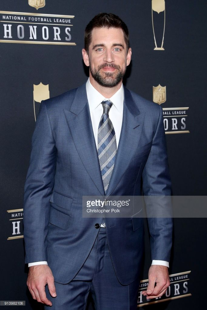Player Aaron Rodgers attends the NFL Honors at University of Minnesota on February 3, 2018 in Minneapolis, Minnesota.