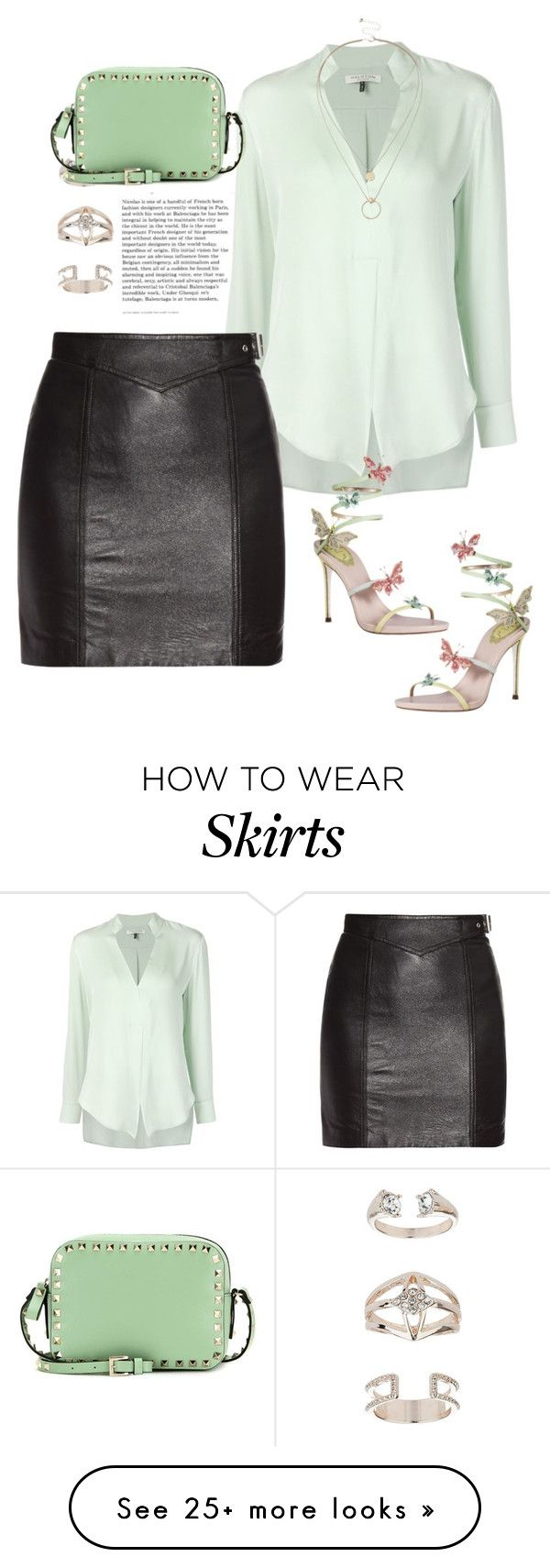 """Untitled #606"" by luhmartins on Polyvore featuring Halston Heritage, Yves Saint Laurent, Topshop, Sole Society and Valentino"
