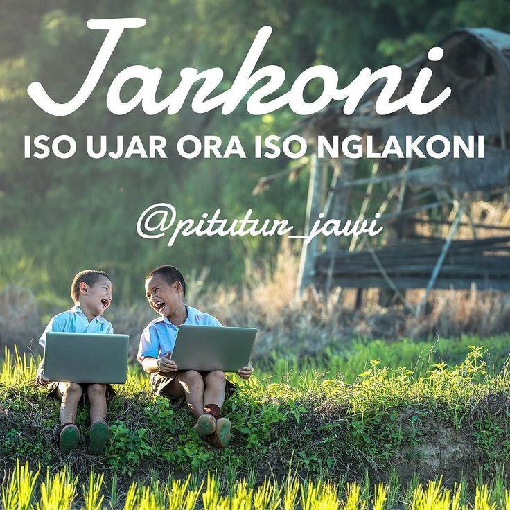 Jarkoni ( Iso Ujar Ora Iso Nglakoni = Hanya bisa bicara tidak bisa menjalankan )