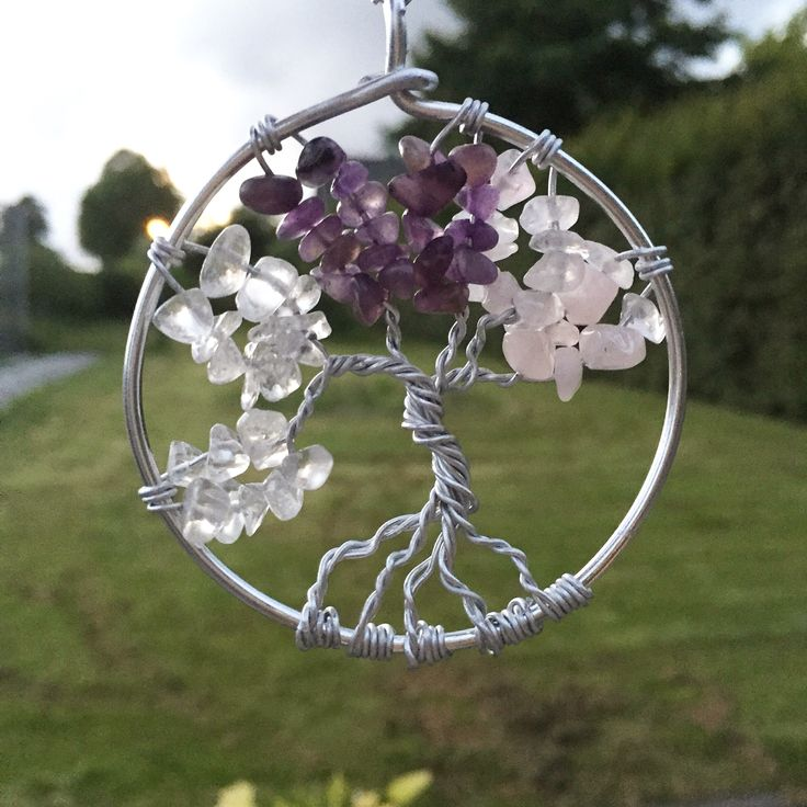 Handgemaakte levensboom ketting verkrijgbaar bij Cervus Vigor