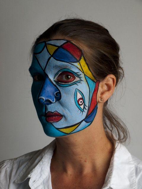 face paint picasso - Google zoeken