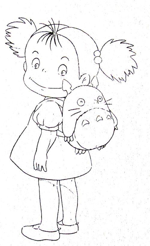 Studio Ghibli 「トトロ、グッズ案」