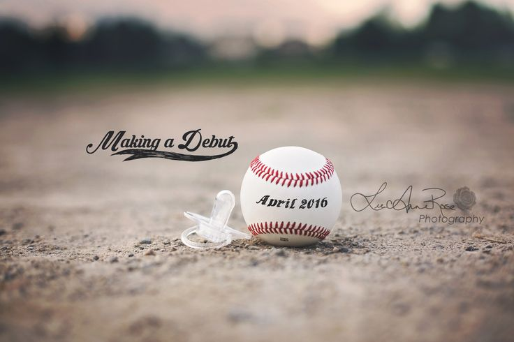 Baseball | Birth Announcement | Photographer | LeeAnne Rose Photography | Pregnancy Announcement | Coming Soon | Photography |