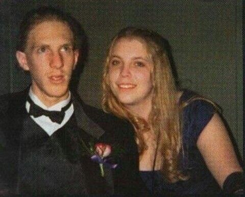 Dylan Klebold and Robyn Anderson @ prom 04/99