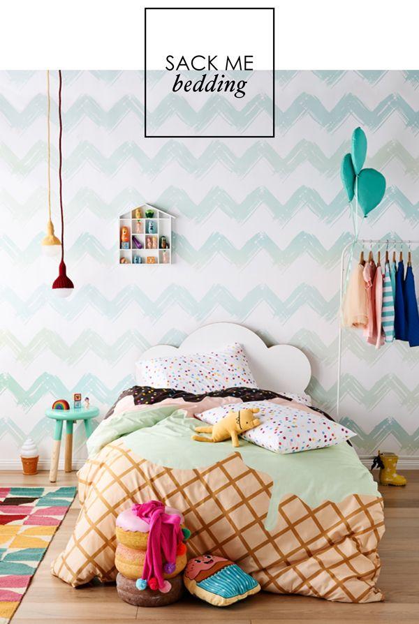 Sack Me's Cute Bedding #kidsbedroom
