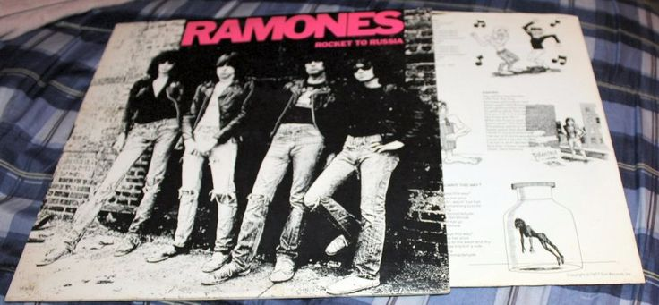 Ramones – Rocket To Russia Sire – SR 6042 1977 Record Vinyl #EasternEuropeRussia