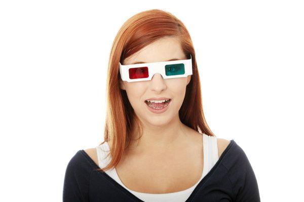 Grazie agli occhiali 3-D allegati al volume potrai vedere le foto in 3 dimensioni.