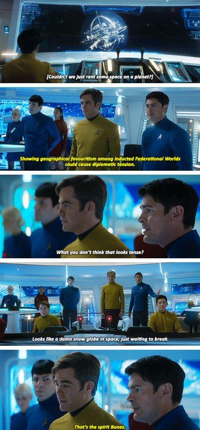 Star Trek Beyond | Bones, Kirk & Spock