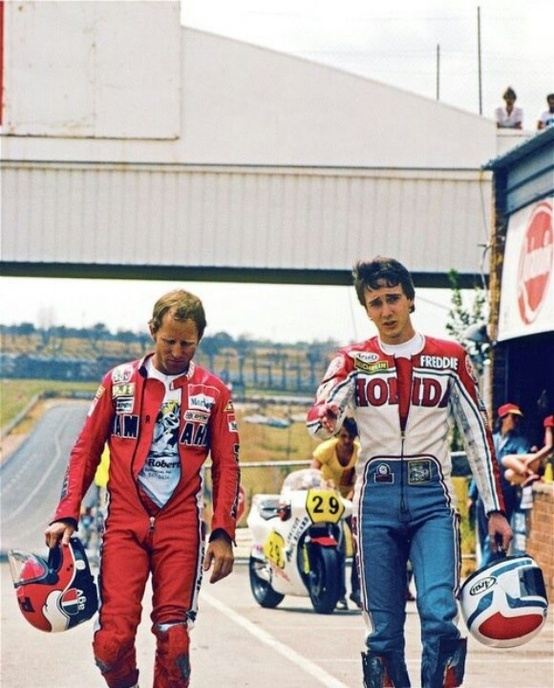 Kenny Roberts & Freddie Spencer