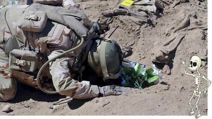 Dans les villes passées sous le joug de l'Etat islamique, la libération par l'armée irakienne s'accompagne parfois de macabres découvertes. Les 89 corps en question seraient ceux de soldats de l'armée de l'air assassinés en 2014.