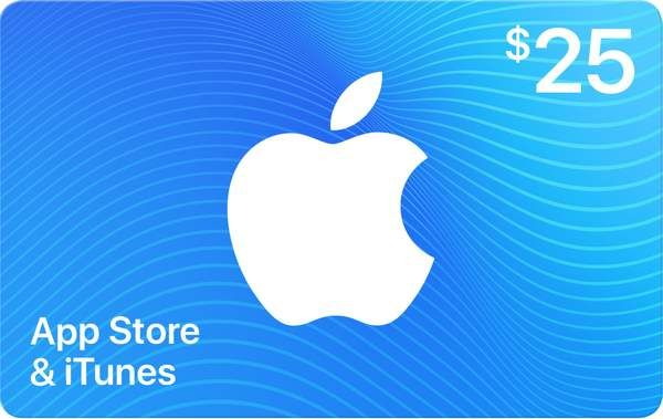 Appleapple 25 App Store Itunes Gift Card By Email Apple Gift