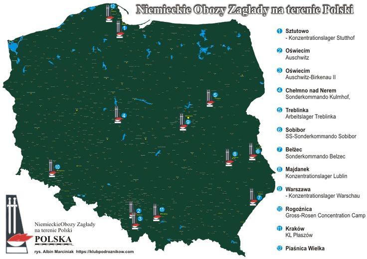 Niemieckie obozy koncentracyjne w Polsce - Klub Podróżników Śródziemie