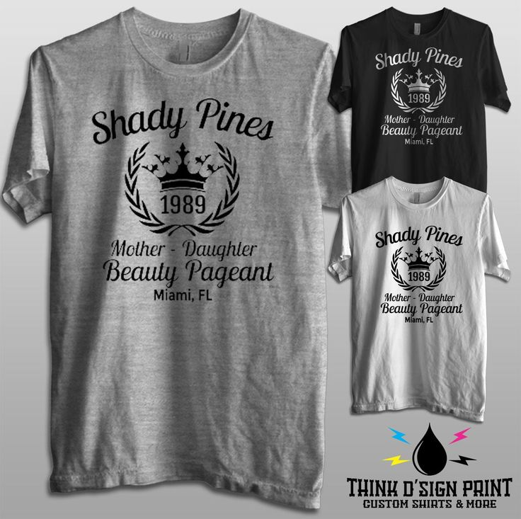 Shady Pines Beauty Pageant - Golden Girls Men & Ladies' Tee by ThinkDsignPrint on Etsy https://www.etsy.com/listing/480069476/shady-pines-beauty-pageant-golden-girls