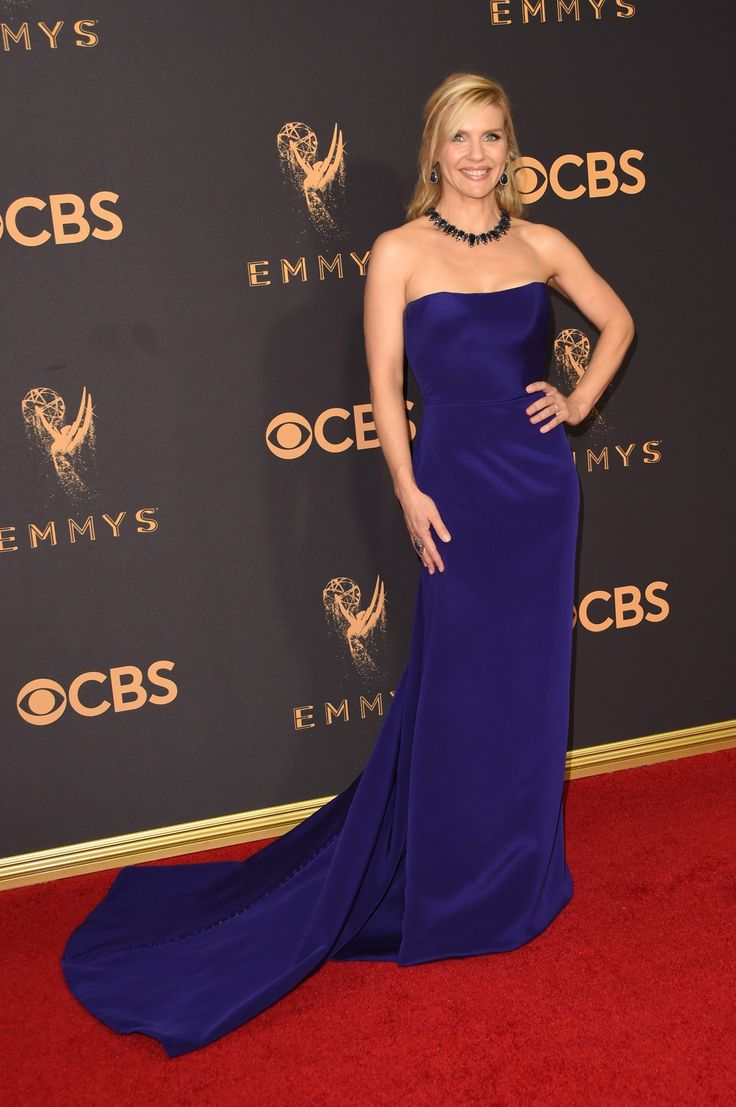 Rhea Seehorn in Romona Keveza Collection - 2017 Emmy Awards