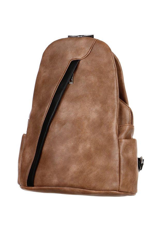 Dámský sportovní asymetrický koženkový batoh - koupit online na Glara.cz   glara  fashion 44c74049ab