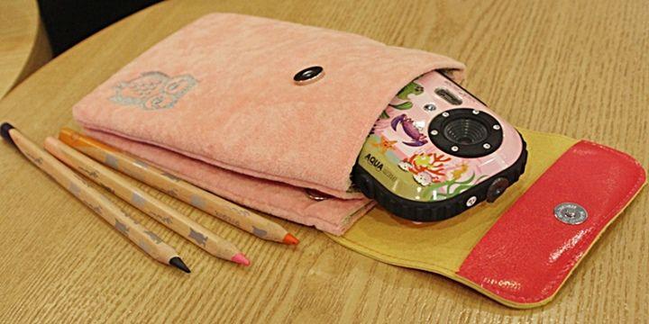[지갑&파우치]깔끔한 디자인으로 시선을사로잡는 듀얼포켓 파우치