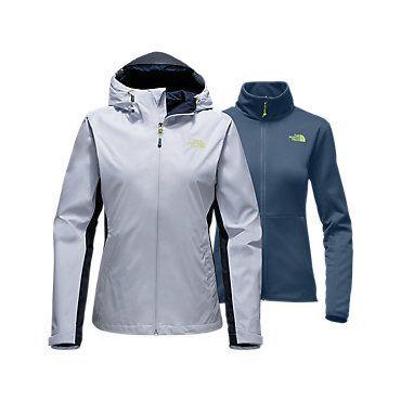 The North Face Women's Arrowood Triclimate Rain Fleece Jacket