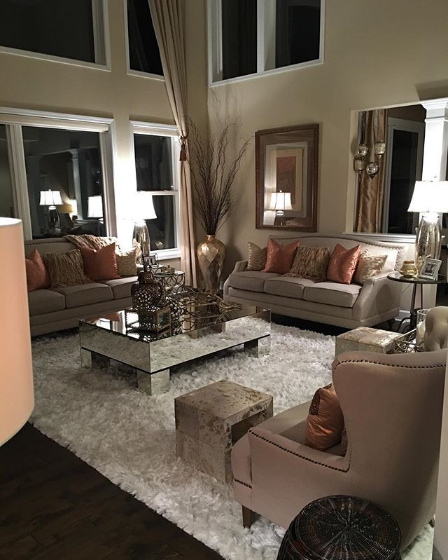 7 Apartment Decorating And Small Living Room Ideas: Farah Merhi @farahmerhi_ My Family Room At...Instagram