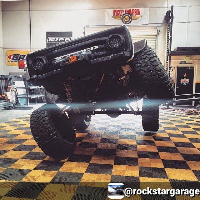 Rockstargarage Flexed On Some Swisstrax Flooring Garagefloors Ultimate Garage