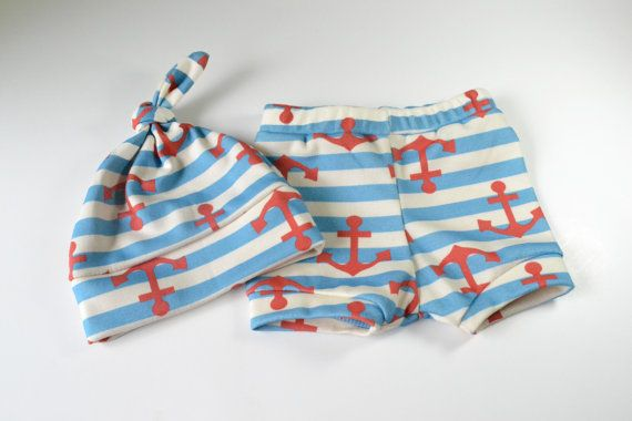 Organic baby boy clothes  Nautical baby by TheLinebyAleMulcahy, $23.00