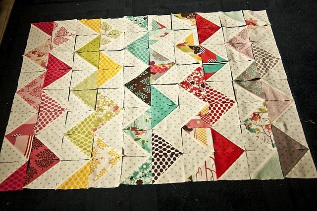 Chevron Quilt Patterns Free