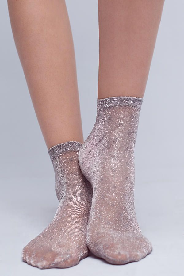 Shimmer Dot Socks