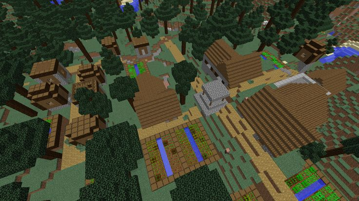 With Minecraft 1.10 just released this week, older seeds will stop working. Not to worry! We have some amazing new 1.10 seeds coming your way.  Here's an amazing 1.10 seed to start you off: this one has THREE villages, two of them in a taiga biome, and one built into a ravine. Grab a full set of iron armor in the blacksmiths' chests.  Click the link for the seed and plenty of pictures!