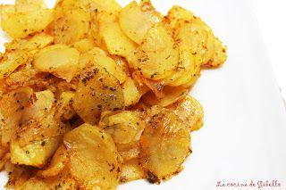 La cocina de Gibello: Patatas crujientes al pimentón de La Vera