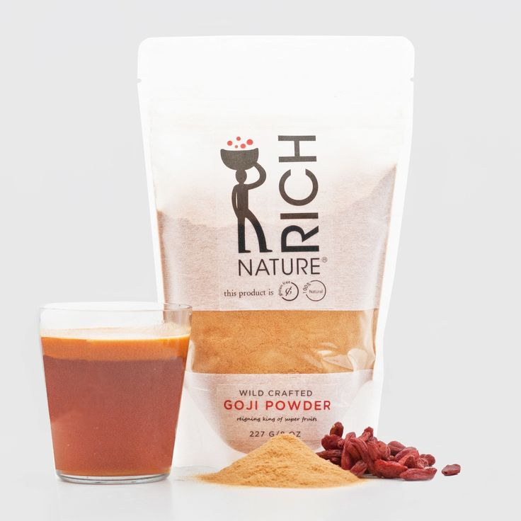 100% NATURAL Gluten Free Goji Powder 8 oz - Abe's Market