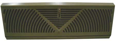 """Perimeter Baseboard Diffusers by VALUE BRAND - Grilles by Zoro Tools Industrial Supplies $10.00.  Comes in 15"""" and 18"""""""