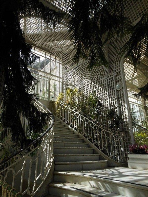 """Gorgeous Trellis. """"Le jardin d'hiver par excellence, au jardins Albert Kahn"""" Paris 16 e"""