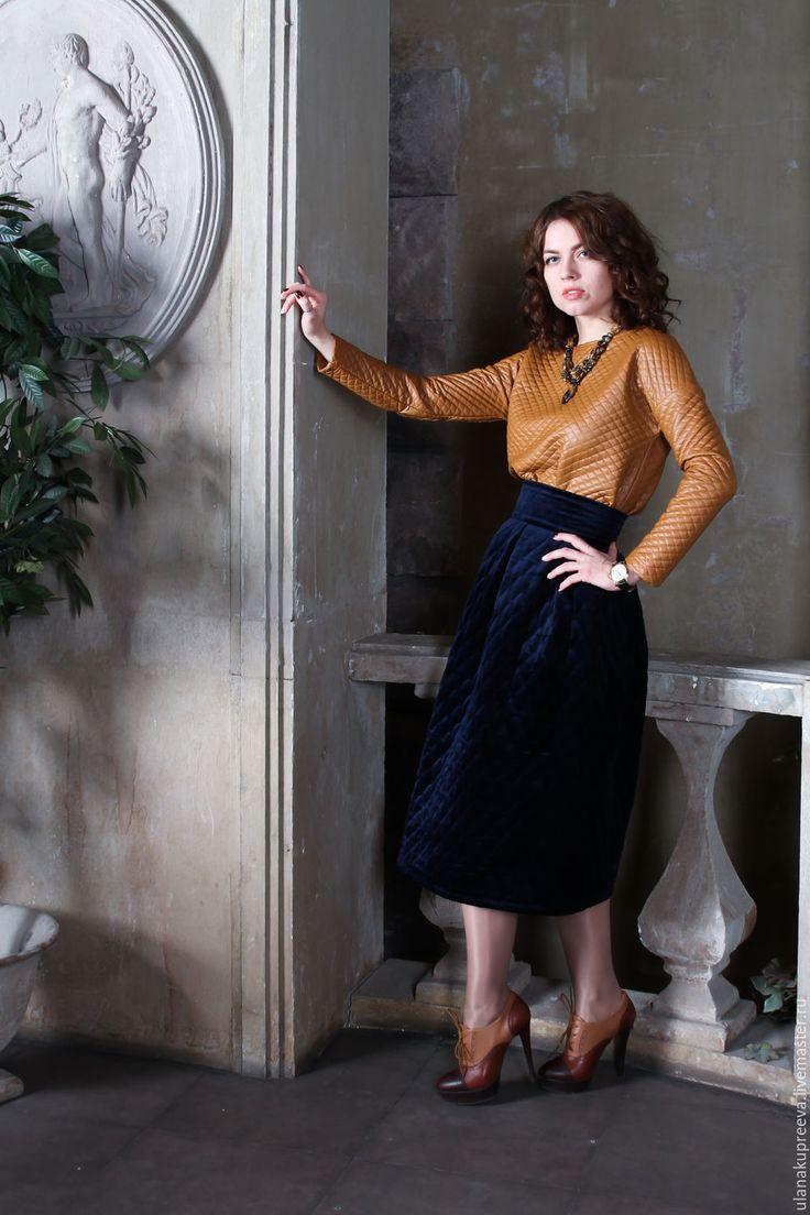 схема шитья длинной юбки