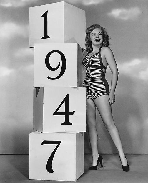 Were you born in 1947? Here's actress June Haver welcoming in your year!