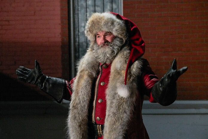 The Christmas Chronicles Trailer Kurt Russell Suits Up As Santa Best Christmas Movies Santa Claus Movie Christmas Movies