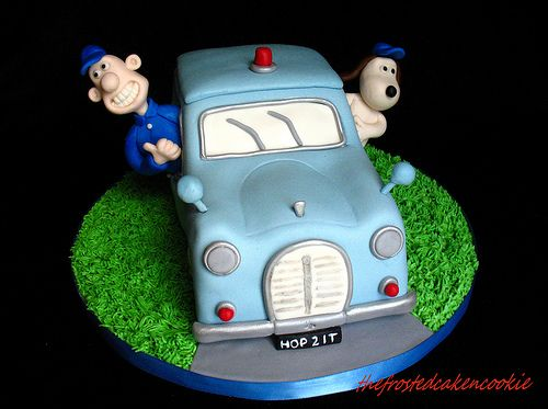 Wallace and Gromit Cake | Flickr: partage de photos!