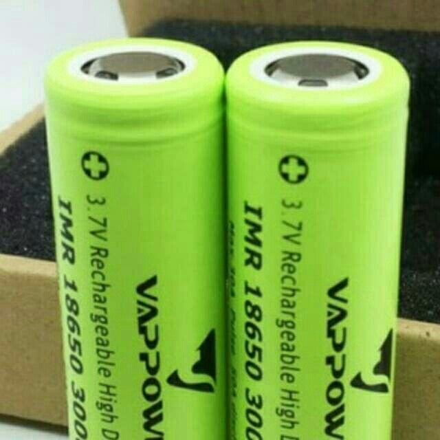 Saya menjual baterai/batre/battery vappower 3000mah 30a authentic seharga Rp89.000. Dapatkan produk ini hanya di Shopee! https://shopee.co.id/shohibystore/154899473/ #ShopeeID