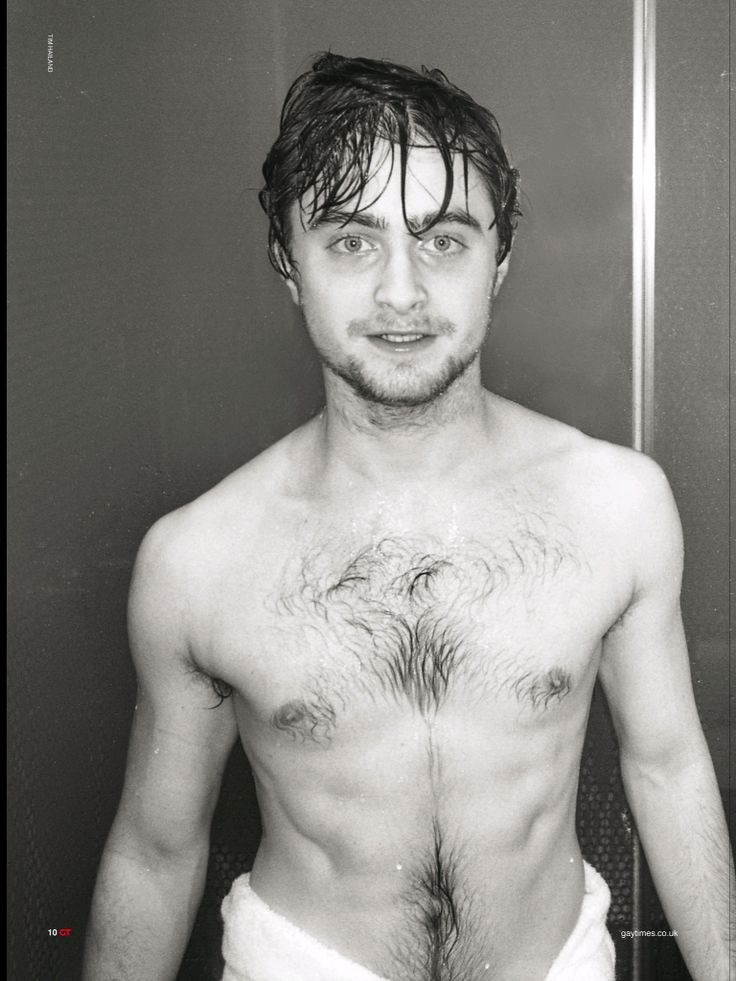 Chest hair potter rons hairy