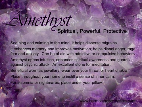 Crystal Meaning | Amethyst - Crystal Meanings and Information