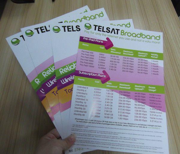 cheap leaflet printing service