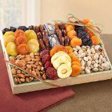 Pacific Coast Deluxe Dried Fruit Tray with Nuts (Misc.)By Golden State Fruit
