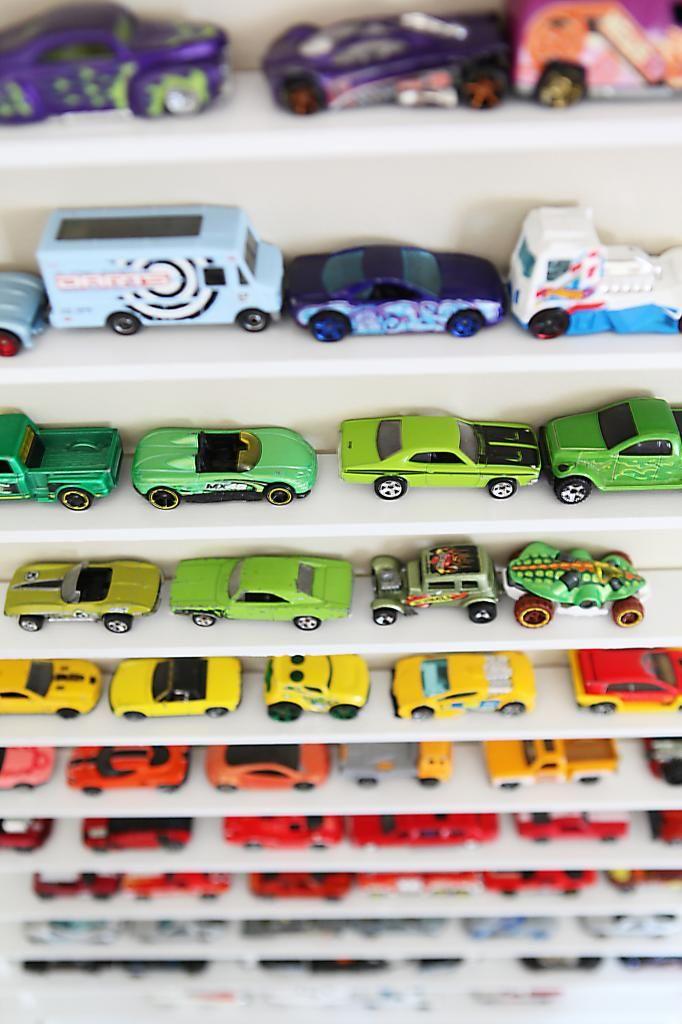 Match box Car Rack-car rack DIY