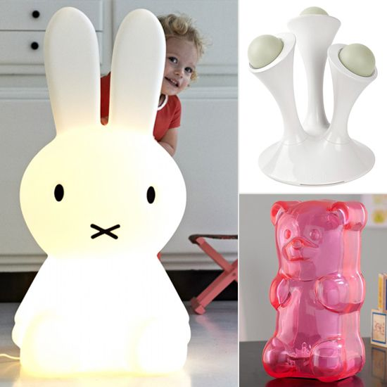 Modern Night Lights to Keep Monsters and Boogie Men at Bay