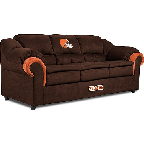 Imperial Cleveland Browns Pub Sofa
