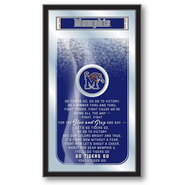 Memphis Tigers Fight Song Mirror at SportsFansPlus.com. Visit website for Bonus Coupon!