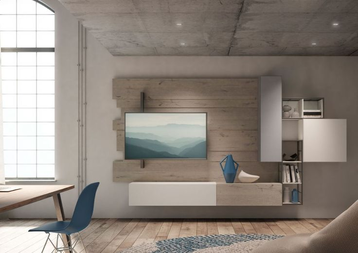 18 best Render Zona Giorno images on Pinterest | Modern wall units ...