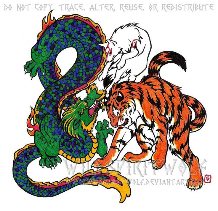 Tribal Tiger By Ruttan On Deviantart: 16 Best Kenpo Tatoos Images On Pinterest