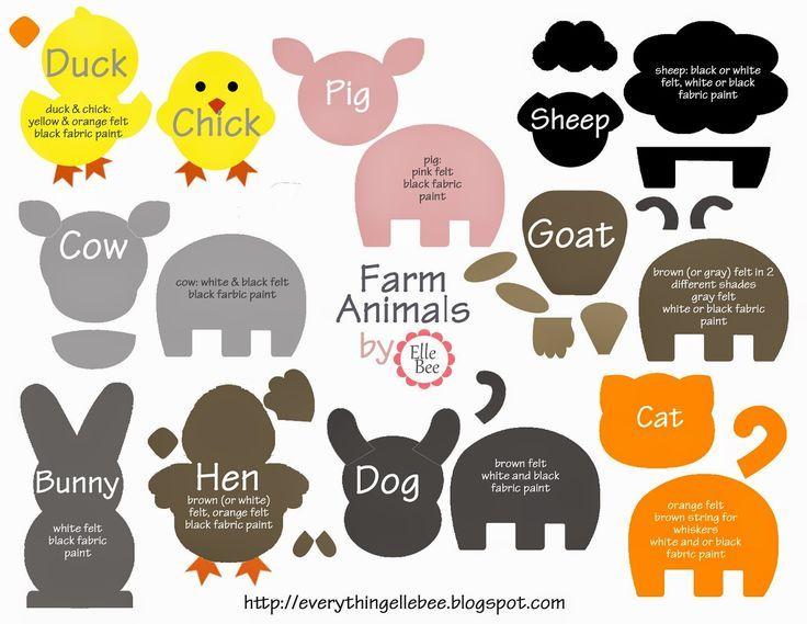 17 Best Ideas About Animal Templates On Pinterest