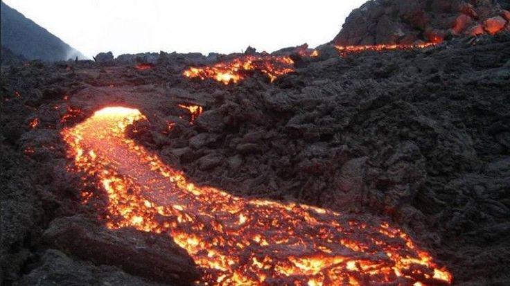 Cabo Verde: Atividade do vulcão intensificou-se durante a madrugada – 24/11/2014