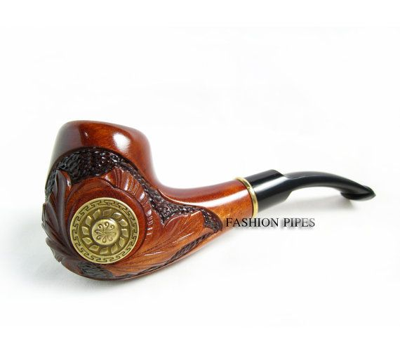 """Etsy Transaction - New Style """"VIKING"""" Wood pipe Tobacco Pipe/Pipes Smoking Pipes. Handcrafted wooden pipe, Best Price in FPS"""