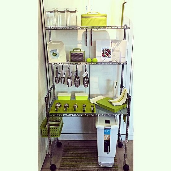 For space sake kitchen space saving solutions pantry - Pantry solutions for small spaces collection ...